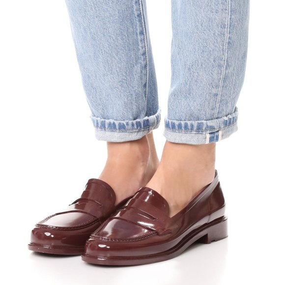 77ce71a6b6c Hunter Women s Original Penny Loafers Dulse shoes